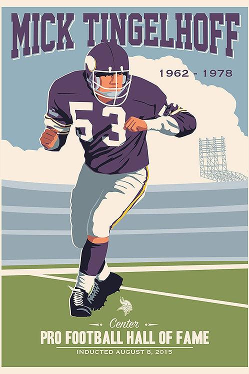 Minnesota Vikings HOF Mick Tingelhoff