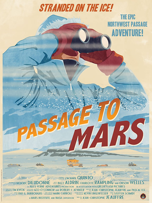 Passage to Mars documentary poster: Earth