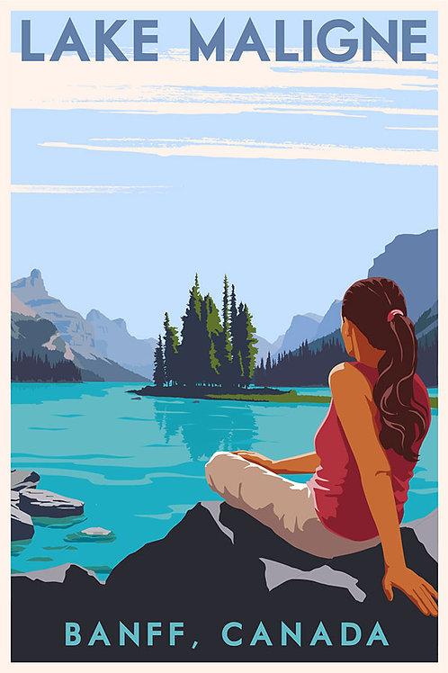 Lake Malign, Banff