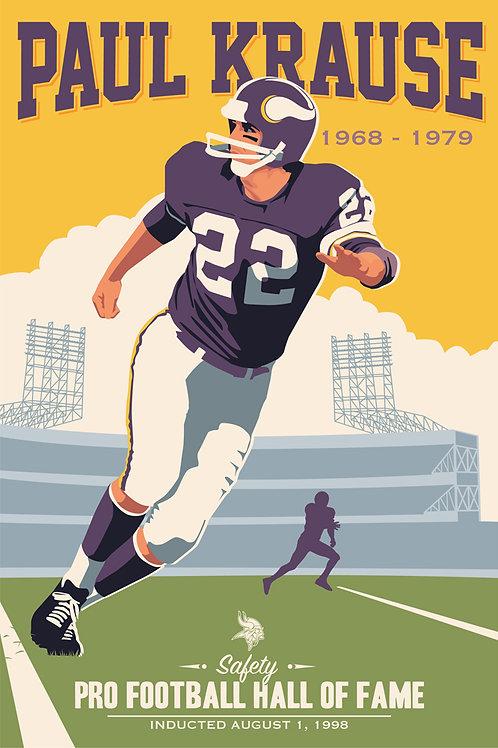 Minnesota Vikings HOF Paul Krause