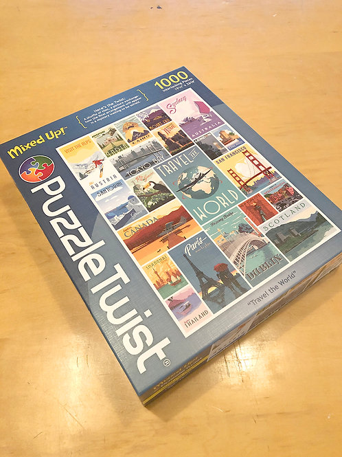 World Travel Puzzle