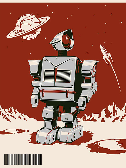 Robot Red poster