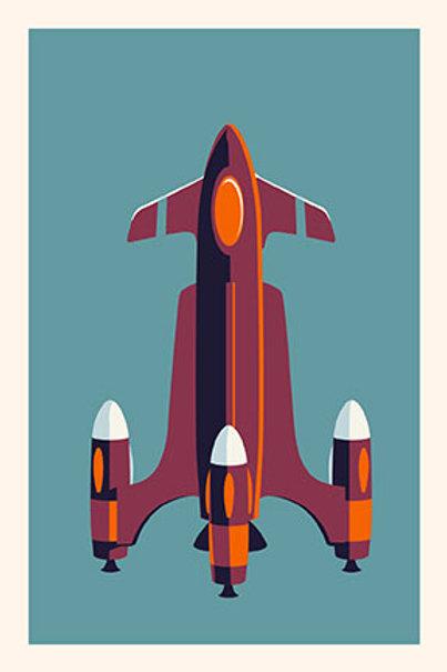Rocket IV mini print
