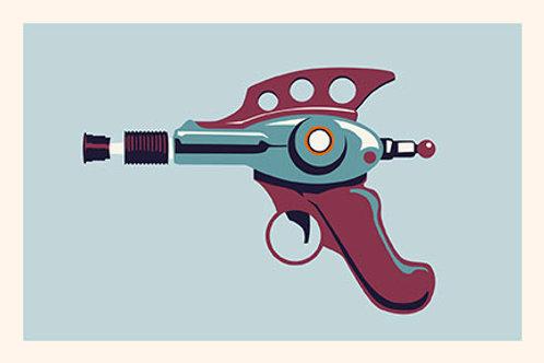 Raygun VII mini print