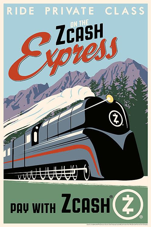 Zcash Express (portrait)