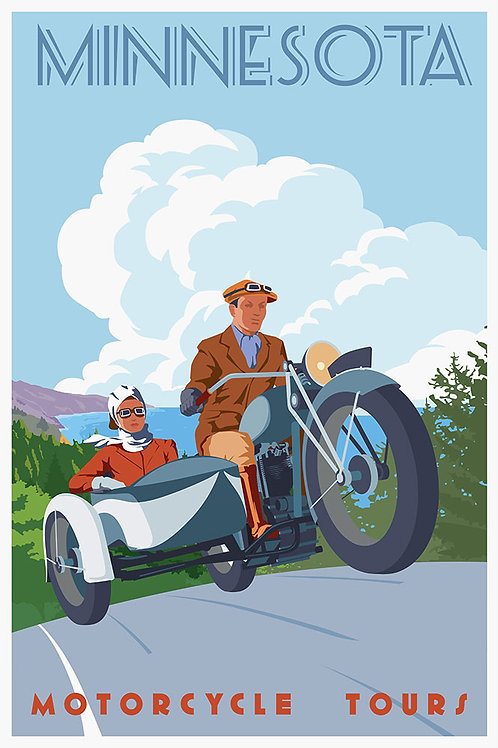 Vintage Motorcycle tour (couple)