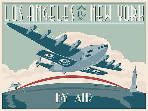 LA to NY