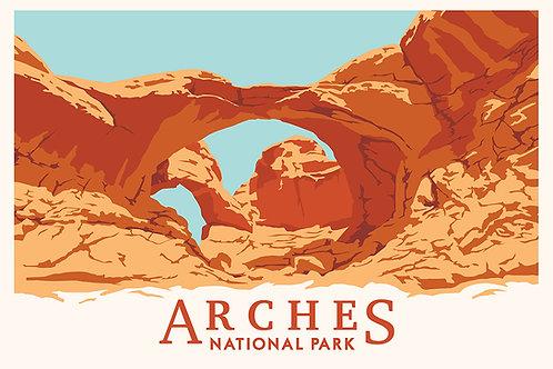 (Double) Arches National Park