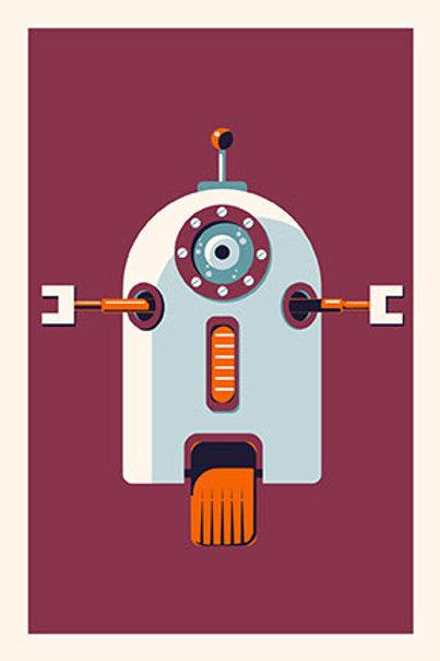 Robot VII mini print
