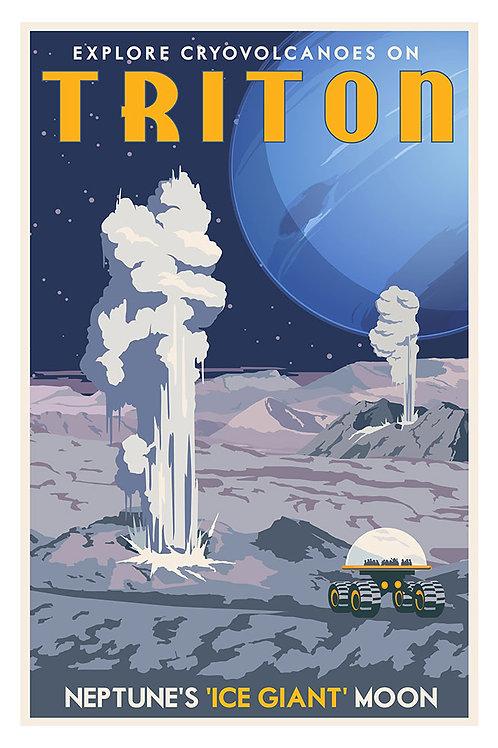 Triton Neptune poster