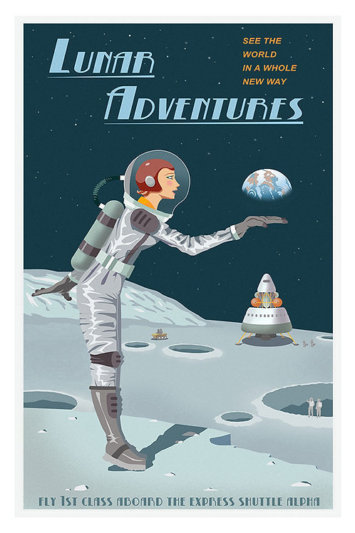 Lunar Adventures poster