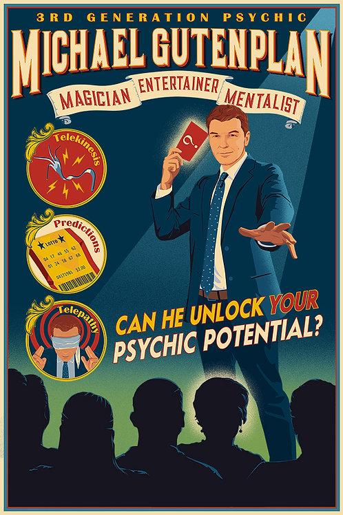 Magic Mentalist Michael Gutenplan
