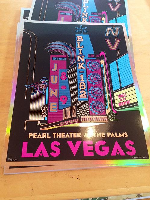 Blink-182 Las Vegas, 2018 Foil