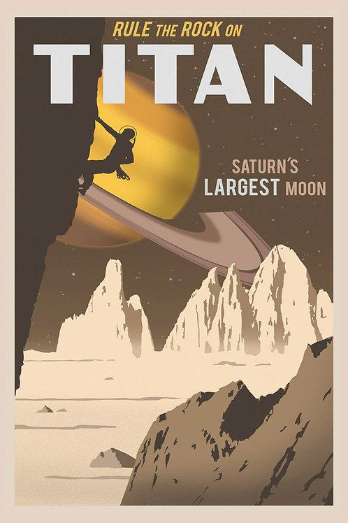 Titan Postcard