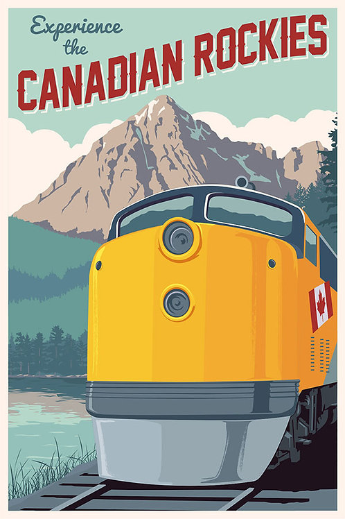 Explore the Rocky Mountains by Train