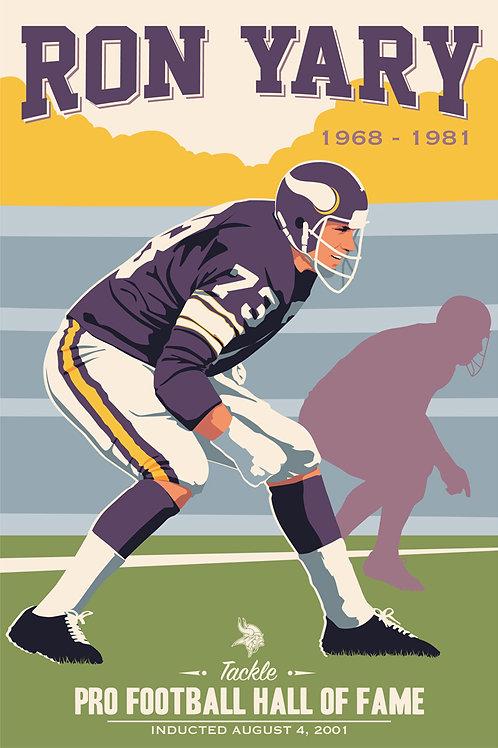 Minnesota Vikings HOF Ron Yary