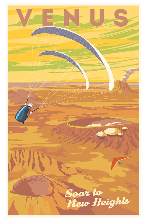 Venus Soar Postcard