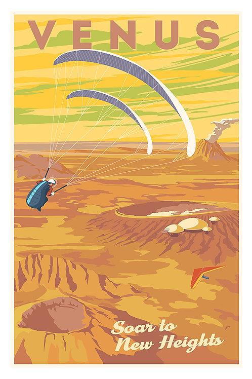 Venus soaring poster