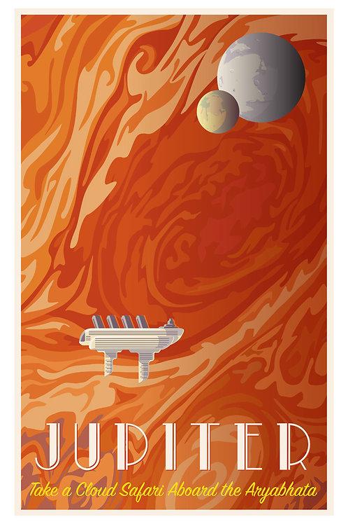 Jupiter Cruise Poster