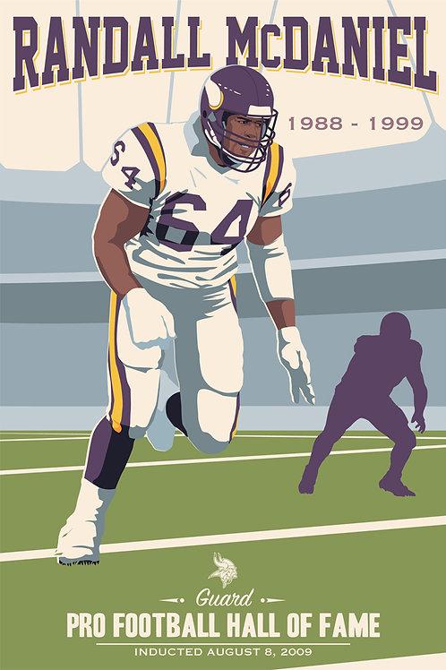 Minnesota Vikings HOF Randall McDaniel