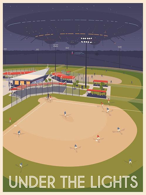 Baseball under alien lights