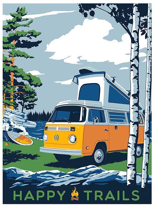 VW Bus @ the Lake