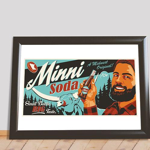 Minni Soda Paul Bunyan