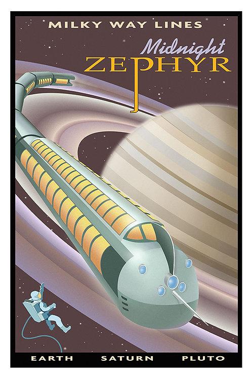 Saturn Zephyr poster