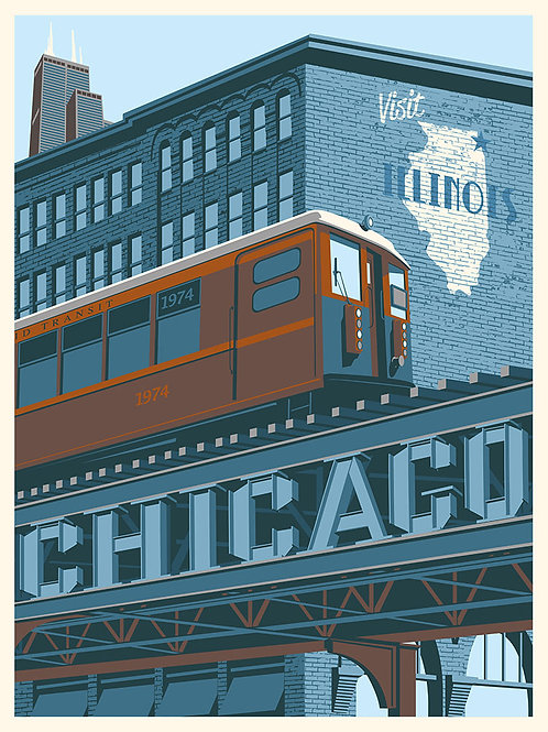 Chicago L Train