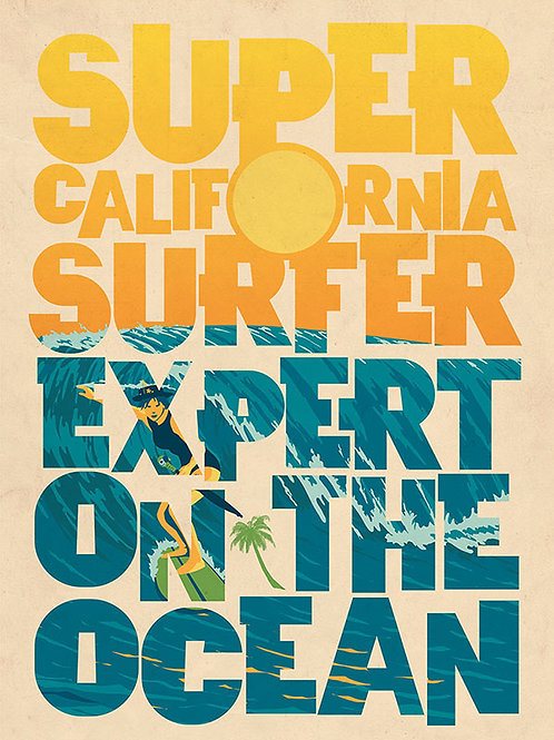 SuperCaliforniaSurferExpertOnTheOcean