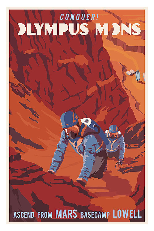 Mars Climb poster