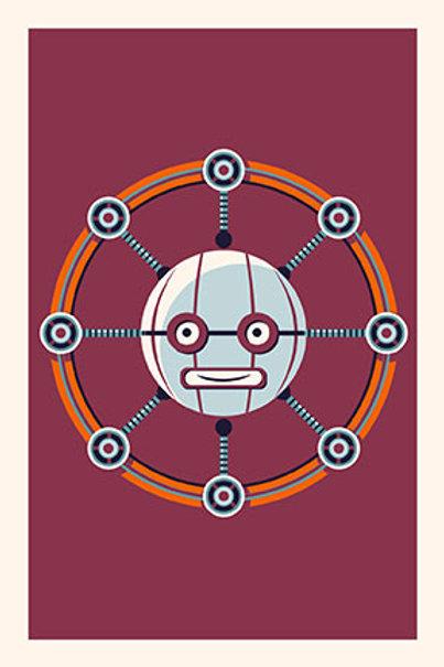 Robot VIII mini print