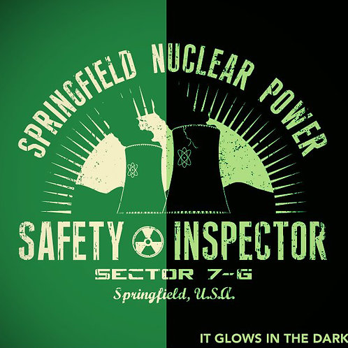 Women's Springfield Nuclear Power - Glow in the Dark!