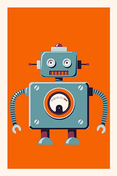 Robot V mini print