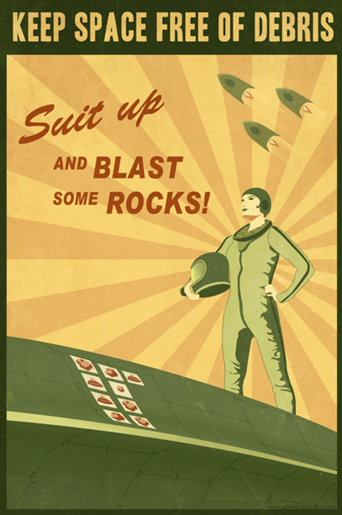 Suit Up and Blast some Rocks!