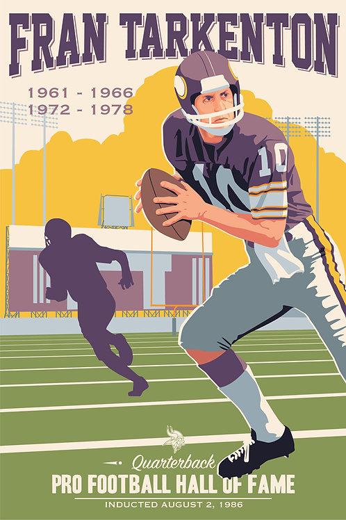 Minnesota Vikings HOF Fran Tarkenton