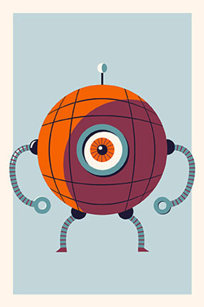 Robot VI mini print