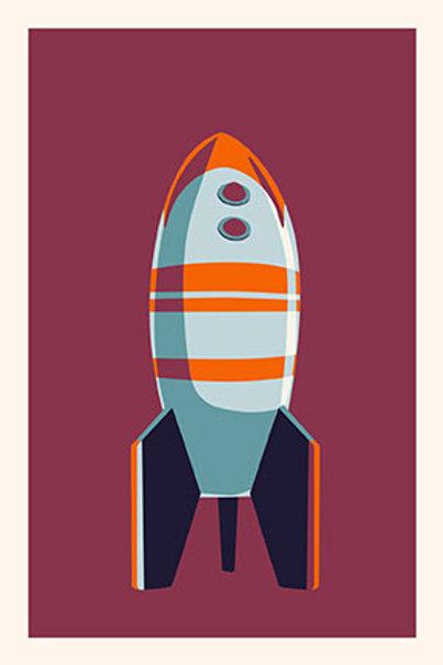 Rocket VIII mini print