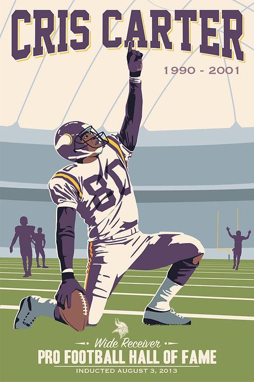 Minnesota Vikings HOF Cris Carter