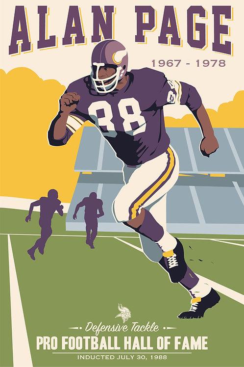 Minnesota Vikings HOF Alan Page