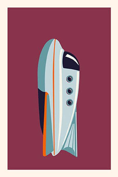 Rocket VII mini print