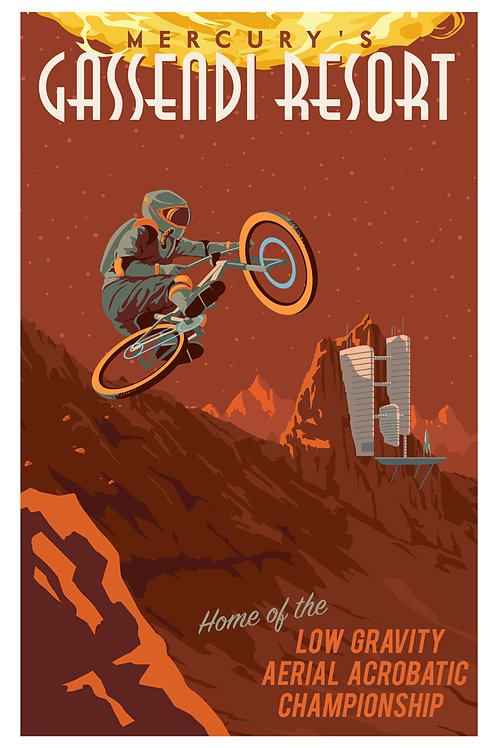 Mercury Cycling Poster