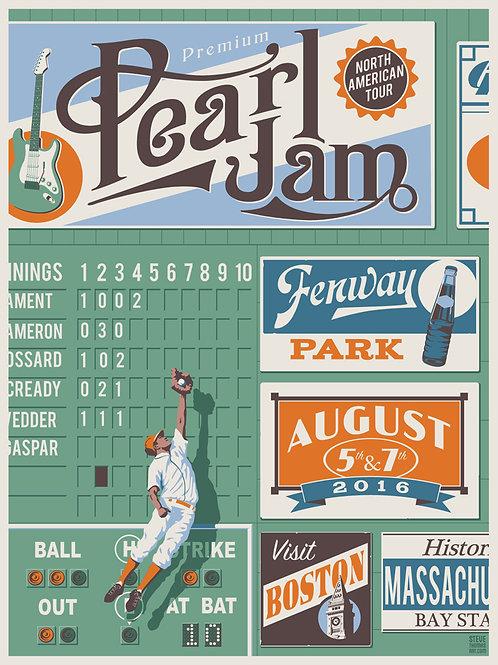 Pearl Jam Fenway: Variant