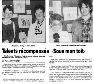 "Remise du prix ""Jean-Charles"""
