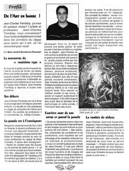 Article journal étudiant