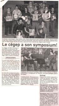 Expo cegep Baie-Comeau 2008