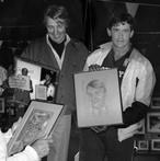 1987 avec Maurice Lebon et Jeremie Giles