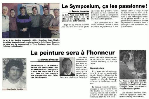 Publicité symposium BC