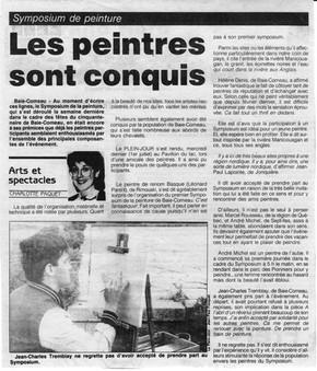ùExpo 1er sympo au Québec en 1987
