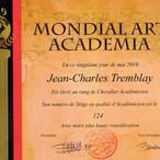 2019 Chevalier Académicien MAA